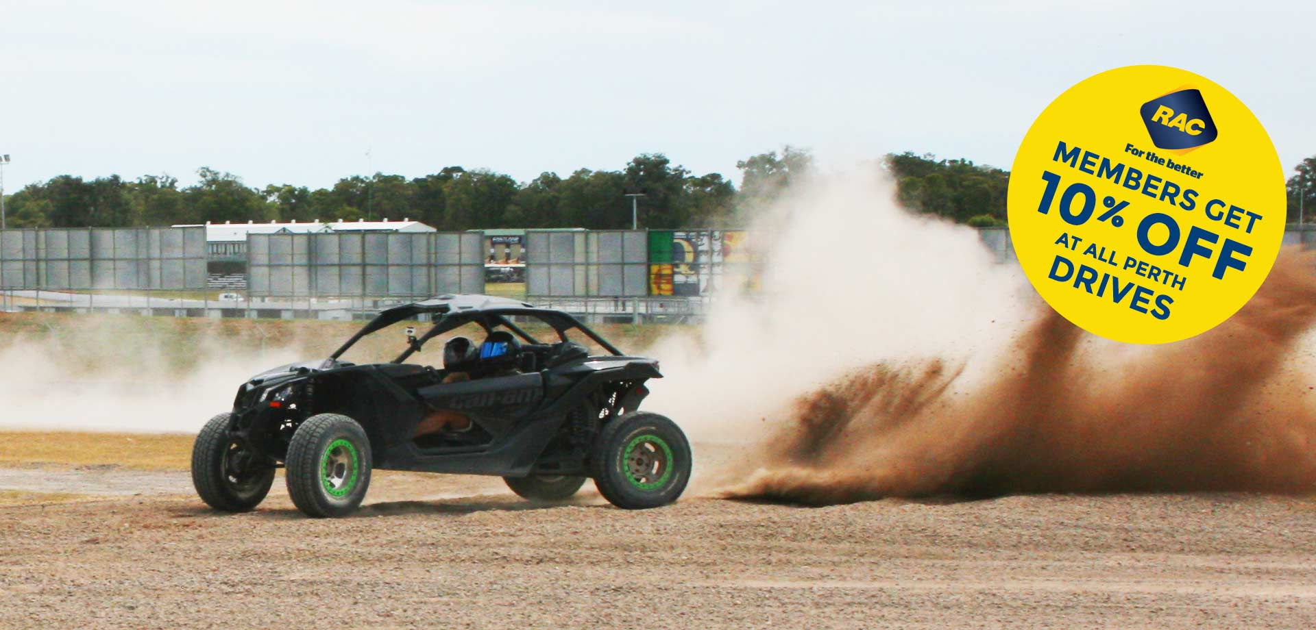V8 Trophy Truck Drives, UTV, WRX Turbo Rally Drives - Perth WA